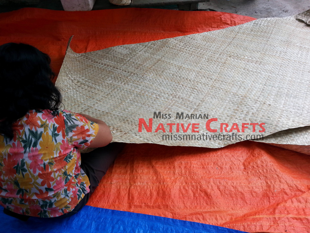 Cleaning of Lauhala mats